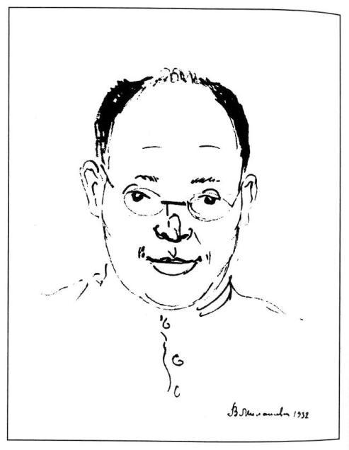 Портрет И.Э.Бабеля