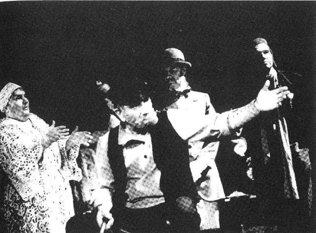 """И.Э. Бабель. """"Закат"""". Сцена из спектакля Московского академического театра им. Вл. Маяковского"""